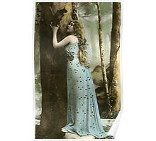 Vintage *Forest Maiden* Poster