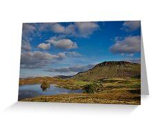 Cregennan lake and Cader Idris Greeting Card