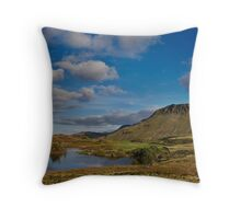 Cregennan lake and Cader Idris Throw Pillow