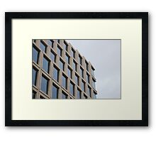 Glass & Stone Framed Print