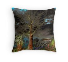 Mt Coot-tha Botanical Gardens-wonderland Throw Pillow