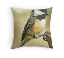 dreaming of sunflower seed Throw Pillow