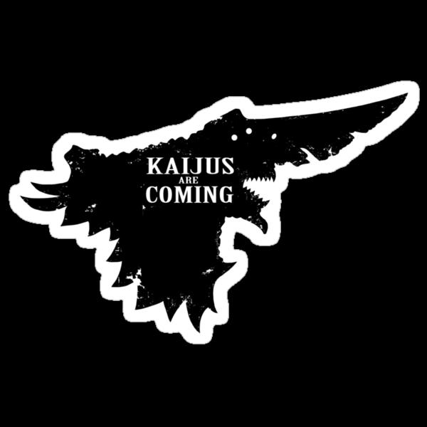 Kaijus Are Coming by Baznet