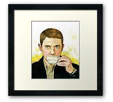 Dr. Watson Framed Print