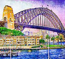 Sydney Harbour Bridge by vadim19
