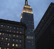 Empire State Building by mandytjie