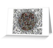 Cyborg Heart Greeting Card