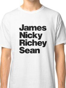 Manics - black Classic T-Shirt