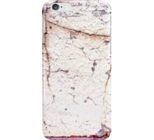 cracks in the wall iPhone Case/Skin