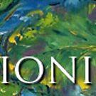 Impressionism Café Banner by Claudia Hansen