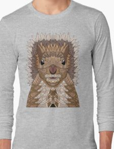 Ornate Squirrel Long Sleeve T-Shirt
