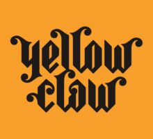 Yellow Claw Logo Black by Canonica
