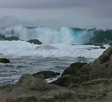 Pacific Storm - Monterey Bay, California by Shane Rechner