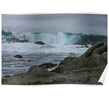 Pacific Storm - Monterey Bay, California Poster