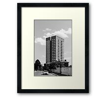 Abbey Road Apartment Blocks Framed Print