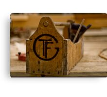 TFG - Timber Framers Guild Canvas Print