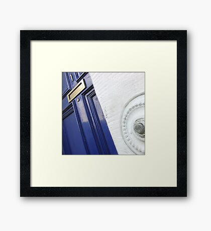 The Door (Press to Enter) Framed Print
