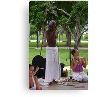 Yoga Song ... Canvas Print