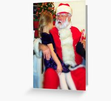 Little Wishes for Santa Greeting Card
