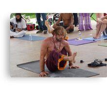 Advanced Yoga Pose Series Canvas Print