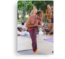 Advanced Yoga Position Series ... Canvas Print