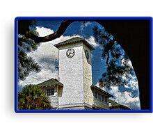 Clock Tower Canvas Print