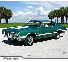 1970 Oldsmobile Cutlass 442 Photographic Print
