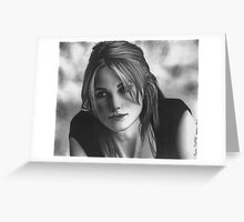 Keira Knightley Greeting Card