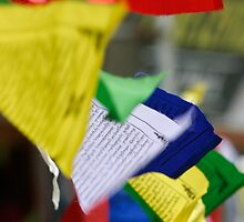 Multicolor Flags - Himilayan Color by Chinua Ford