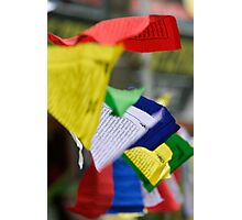 Multicolor Flags - Himilayan Color Photographic Print