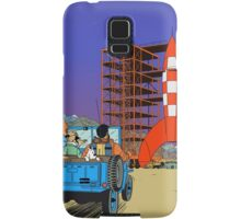 Tintin - Destination moon Samsung Galaxy Case/Skin