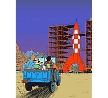 Tintin - Destination moon Photographic Print