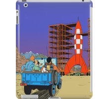 Tintin - Destination moon iPad Case/Skin