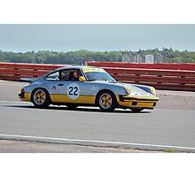 Silver Porsche 911 Photographic Print