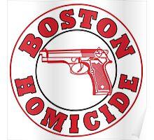 Rizzles Boston Homicide Logo Poster
