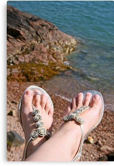 Seaside feet by Jeanne Horak-Druiff