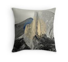The Magesty Of Half Dome Throw Pillow