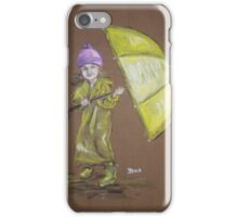 Every Cloud has a Silver Lining iPhone Case/Skin