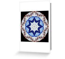 Graffito kaleidoscope #23 Greeting Card