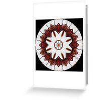 Graffito kaleidoscope #24 Greeting Card