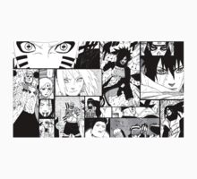 Naruto manga mash T-shirts and more. by Voratas