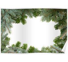 christmas frame Poster