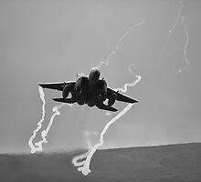 F15 with ribbons by Rory Trappe