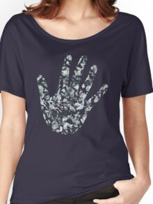 Pebble Print Women's Relaxed Fit T-Shirt