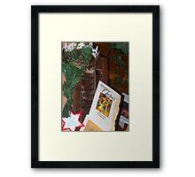 Christmas Birthday Framed Print