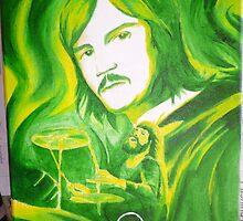 John Bonham (Led Zepp part 3 of 4) by Brett Leurink