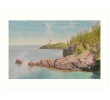 """Swallowtail Light-Grand Manan"" Art Print"