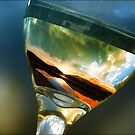 Mountain in a glass of wine, Canmore Alberta 08 by imagen