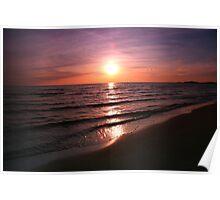 Days End - Sauble Beach, Ontario Poster