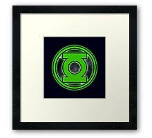 Green Ring Framed Print